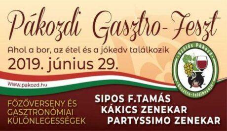 Pákozdi Gasztro-Feszt @ Pákozd
