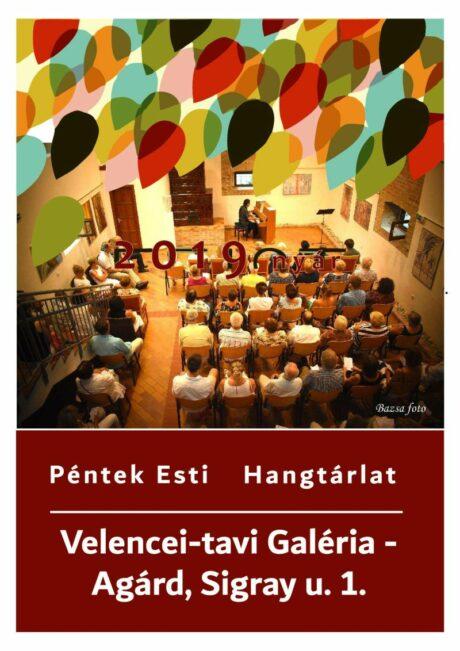 Péntek Esti Hangtárlat - Contempo @ Velencei-tavi Galéria