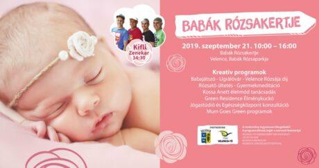 Babák Rózsakertje Velencén @ Babák Rózsaparkja
