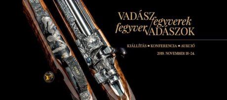 Vadászfegyverek-fegyvervadászok; kiállítás, konferencia, aukció @ Halász-kastély