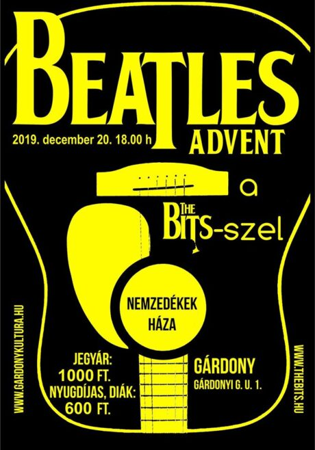 Beatles Advent a The Bits-szel - Gárdony @ Nemzedékek Háza