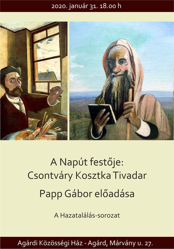 Papp Gábor előadása Agárdon @ Agárdi Közösségi Ház